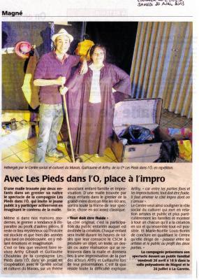 2013-04-20 - Article de Presse - DrÔles d'Histoires