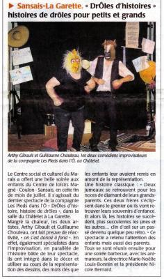 2013-08-02 - Article de Presse DrÔles d'Histoires
