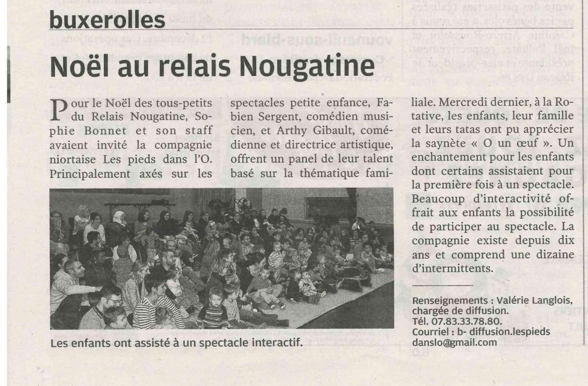 Centre Presse 86 - 13/12/2019 - Buxerolles