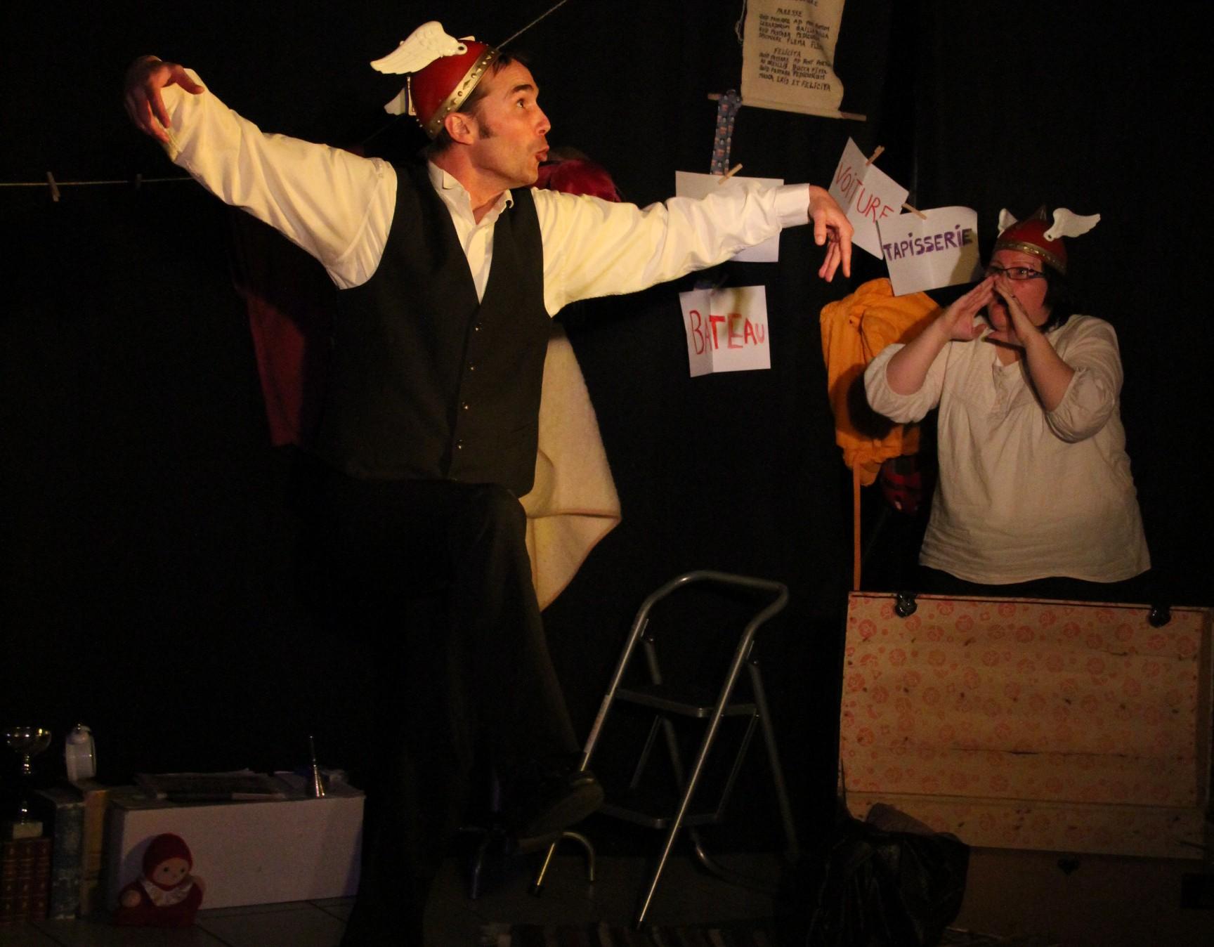 DrÔles d'Histoires : Spectacle de Théâtre et Improvisation