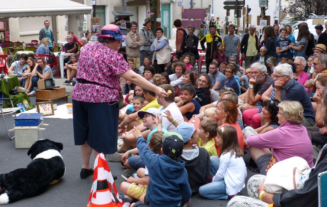 Martine et le public